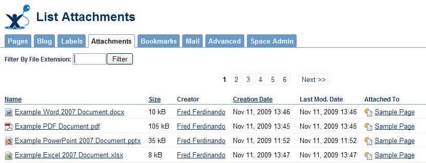 viewing attachment details nyu wikis help center nyu wikis